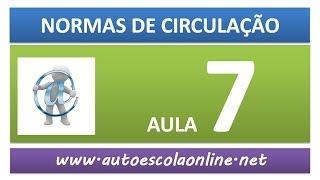 AULA 51 NORMAS DE CIRCULAÇÃO - CURSO DE LEGISLAÇÃO DE TRÂNSITO E PROVA SIMULADA DO DETRAN
