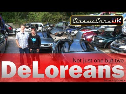 Classic Cars UK Season 1 Episode 3: DeLoreans