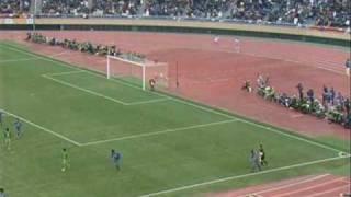 大迫、最多得点記録達成 鹿児島城西vs広島皆実 090112 高校サッカー決勝