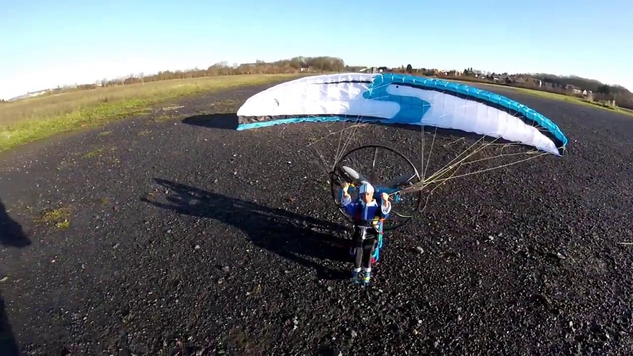 Paraglider rc/Paramoteur rc Infinity RC para SKY first Fly