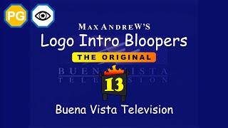 Logo Intro Bloopers 13: Buena Vista Television