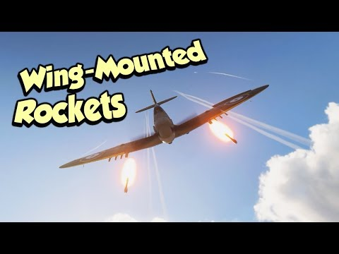 WW2 Wing-Mounted Rockets !?? COOL - Battlefield 5 Spitfire thumbnail
