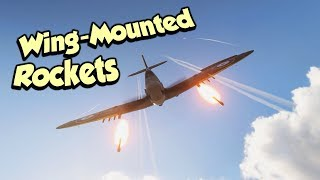 WW2 Wing-Mounted Rockets !?? COOL - Battlefield 5 Spitfire