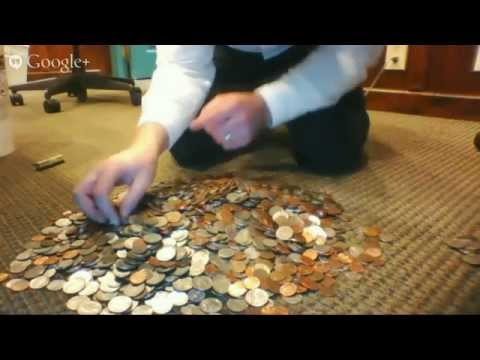 Live coin counting!