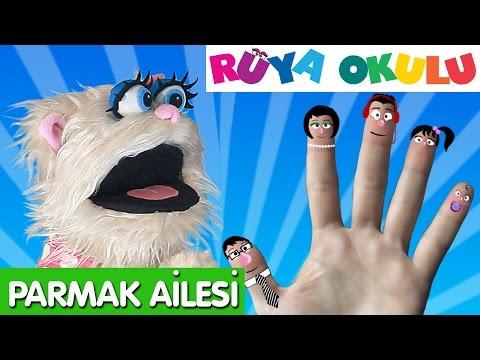 Parmak Ailesi - Finger Family - Turkish - RÜYA OKULU