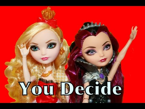 Ever After High Princess Apple White Snow White Raven ...