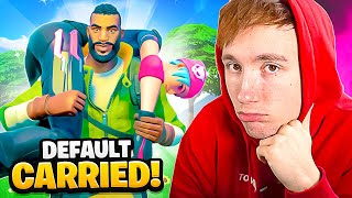 DEFAULT CARRIED MIJ IN FORTNITE!