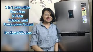 Samsung 275L 3 Star Inverter Frost Free Double Door Refrigerator Review How to set Temperature