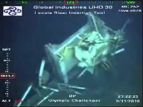 Even More Deepwater Horizon Wreckage Youtube