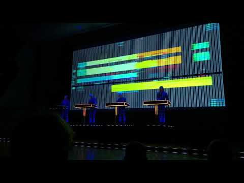 Kraftwerk 3D Full  concert Helsinki 1522018 late show