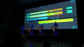 Kraftwerk 3D Full live concert Helsinki 15.2.2018 late show