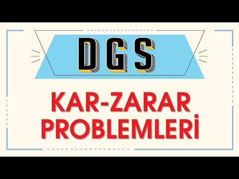 DGS KAR ZARAR PROBLEMLERİ - ŞENOL HOCA