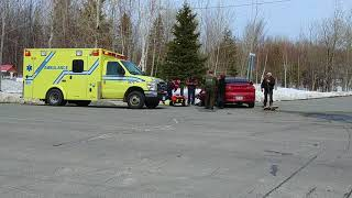 Accident Montmagny 10 avril 2018