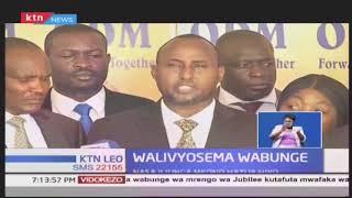 Wabunge wa ODM walikubaliana na hatua ya Rais Uhuru Kenyatta kupunguza ushuru