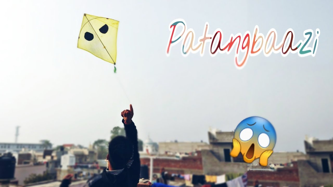 Flying Big Kites Kites Vlog Desi Patangbaazi