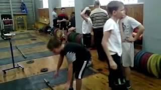 Чемпионат Курской области по тяжелой атлетике среди детей 30.10.2016