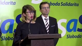 Naživo: Ministerka klame a Most-Híd pácha politické harakiri, tvrdí Sulík