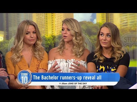 The Bachelor 2017 Runners-Up Reflect On The Finale | Studio 10