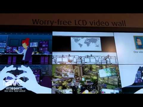 ISE 2016: Barco Shows IVD5521 Tiled LCD Video Wall