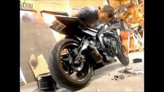 Yamaha r6 Yoshimura exhaust sound
