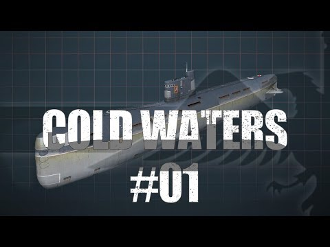 Cold Waters #01 WOLFPACK - SUBMARINE WARFARE SIM Cold Waters Let's Play