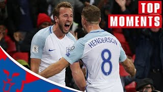 England's Top Qualifying Moments! | World Cup 2018 Draw