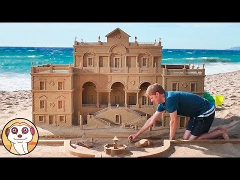LE SCULTURE DI SABBIA PIÙ INCREDIBILI AL MONDO