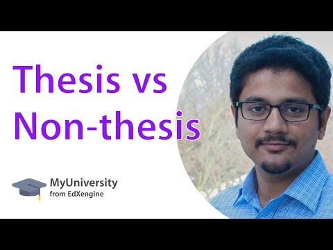 non-thesis masters to phd