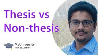 S1 E6: 7 differences between MS with thesis and without thesis