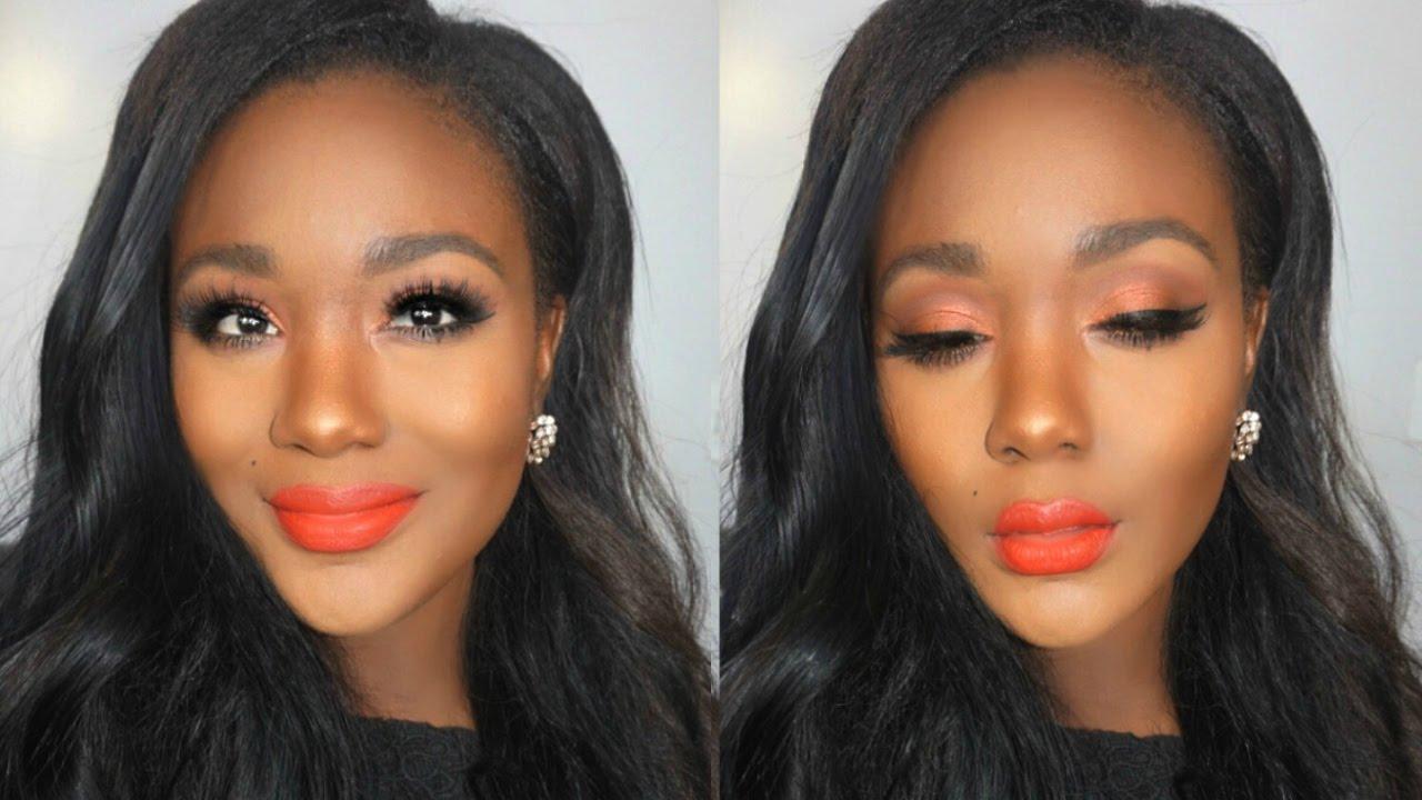 Makeup tutorials for black skin 2016