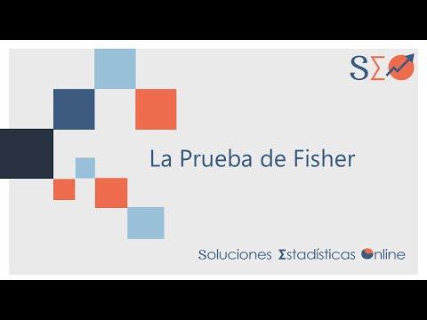 Cálculo de la Prueba de la Probabilidad Exacta de Fisher