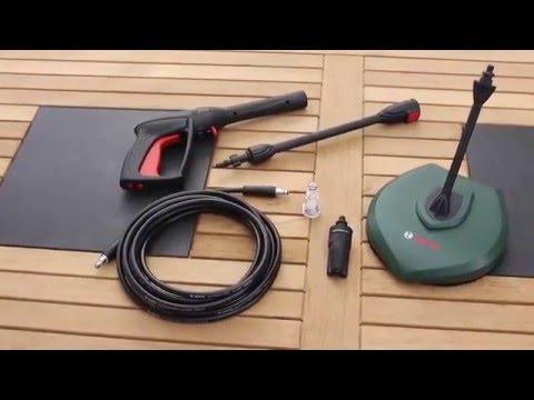 Pressure Washer Gun >> Bosch AQT 35-12 Plus - Product Demonstration - YouTube