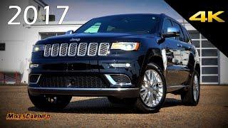 2017 Jeep Grand Cherokee Summit - Ultimate In-Depth Look in 4K thumbnail