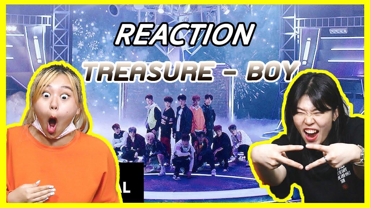 [Reaction] TREASURE - 'BOY' M V