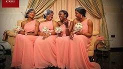 Latest Bridesmaid Dress Styles for Nigerian & Black African Women