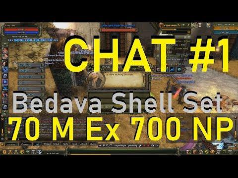 Chat#1 Moradon Merchant Shymer Görevi 70 M Exp & 700 NP  Bedava Shell Set + Silah- Sesli Bilgiler TR