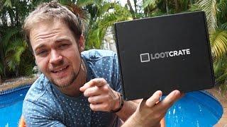 Loot Crate December 2015 Giveaway ft. ReviewFools   DansTube.TV