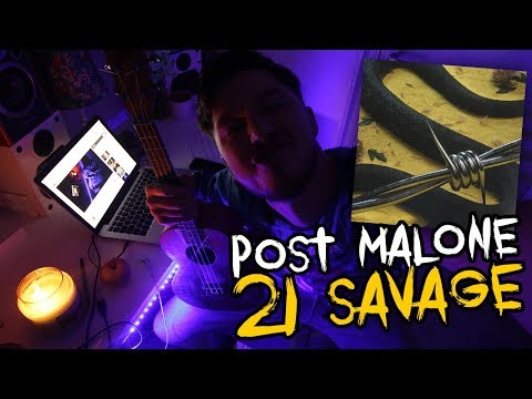 Post Malone & 21 Savage - Rockstar ( Ukulele Cover )