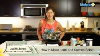 How To Make Lentil And Salmon Salad