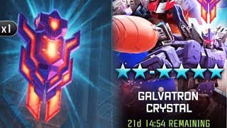 Galvatron Crystals Opening AGAIN | TRANSFORMERS: Forged to Fight