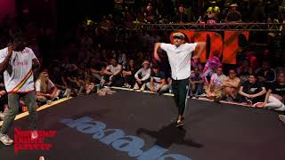 Candy Man vs The Foxx 1ST ROUND Locking Forever - Summer Dance Forever 2018