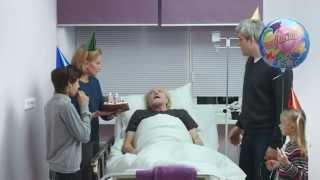 Прикол социальная реклама смешное видео Почетный донор в больнице (Фонд Доноров)