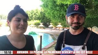 Avignon : la piscine La Palmeraie devient La Vie est Belle
