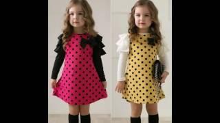 Todas las tendencias Vestido de niña a la moda