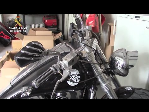 Police raid Hells Angels MC chapter, seize club jewelry, drugs, money and guns   Spain