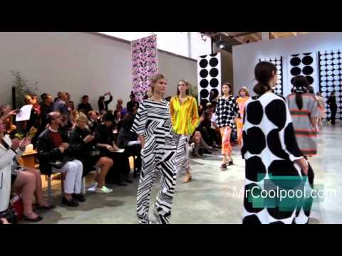 Marimekko Fashion ss16 - Paris Oct 2015