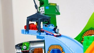 Crunchy is a fun toy that lifts the Thomas who ran down the slope. ...
