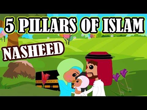 5 Pillars of Islam | Nasheed | Islamic Song | Islamic Cartoon | Islamic Videos | Story for Children