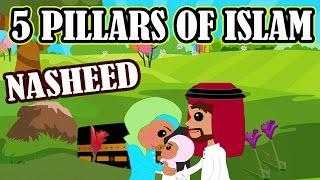5 Pillars of Islam | Nasheed | Islamic Song | Islamic Cartoon | Islamic Videos | Story for Children - Stafaband