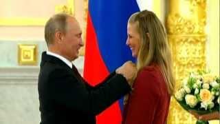 London 2012 Russian Olympic Athletes Receive Kremlin Awards,  Audi Luxury Sports Cars